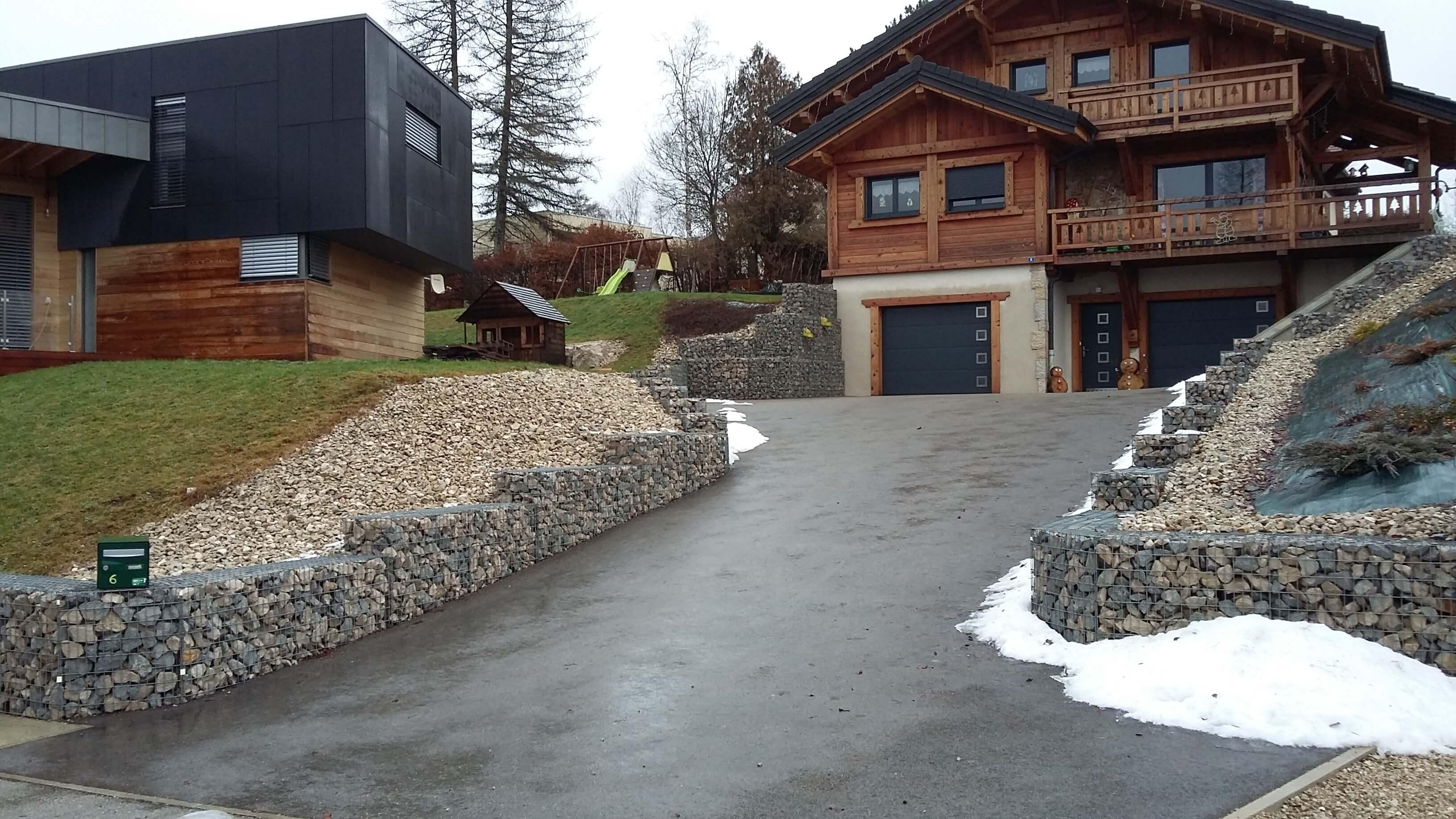 Fabricant De Gabion Rhone Alpes entreprise pernot, spécialiste des gabions en france et en